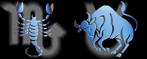Escorpio y Tauro